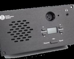 CM/DM 6080 F Врезной микрофонный пульт конгресс-системы DCS 6000