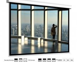 Проекционный моторизованный экран Adeo Alumid 356 – 456 см