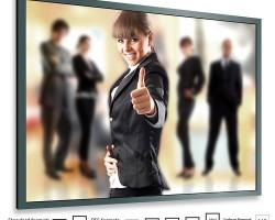 Adeo FramePro Rear Button Проекционный экран на раме с тыльным креплением полотна к раме с помощью кнопок с шириной полотна 144 – 584 см