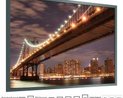Adeo Imager / Imager Velvet Проекционный экран на раме с шириной полотна 145 – 235 см
