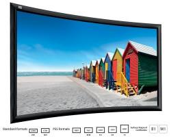 Adeo Plano Curvo Проекционный экран на раме с шириной полотна 160 – 300 см