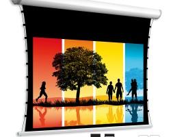 Adeo Linear Tensio / Linear Tensio Classic Натяжной моторизованный проекционный экран с шириной полотна 184 и 214 см.