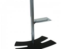 Напольная стойка Lux-up Visio для дисплеев весом до 50 кг.