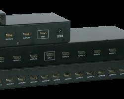 Kensence HDMI-12 / 14 / 18 / 116 – Разветвитель сигнала HDMI 1 в 2/4/8/16