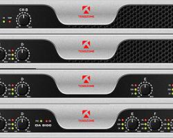 Многоканальные усилители мощности звуковой частоты Tendzone серии DA