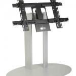 Стойка Erard с основанием и крепления для одного дисплея, максимальная высота до 90 см.