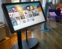 Универсальная напольная мобильная или стационарная стойка серии Erard Plasmatech для одного или двух дисплеев общим весом до 70 кг
