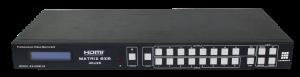 Матричный коммутатор HDMI 8x8 фронтальная панель