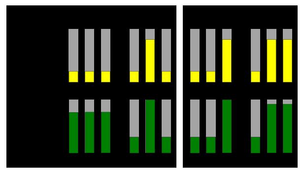 Рис. 3. Диаграмма работы компромисного автомикшера.