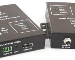 Kensence CAT-HDMI-70CT/R-P – Удлинитель HDMI сигнала по витой паре, передача до 70 метров