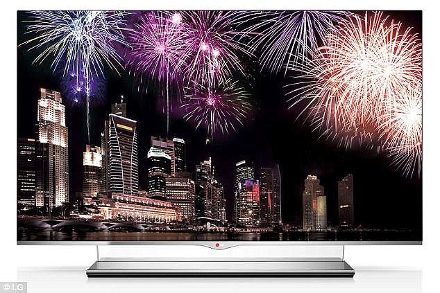 Представленный прототип OLED-телевизора является приемником аналогичного 55-дюймового дисплея толщиной 4 мм (на фото), показанного компанией LG Display в 2012 году.