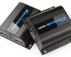 Lenkeng LKV372Pro – Удлинитель HDMI, FullHD, CAT6, до 50 метров, проходной HDMI
