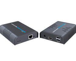 Lenkeng LKV373KVM – Удлинитель KVM HDMI по IP-сети до 120 м