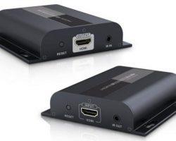 Lenkeng LKV383 – Удлинитель HDMI поверх IP до 120 м с ИК (HDMI over IP)